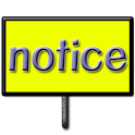 notice board free icon