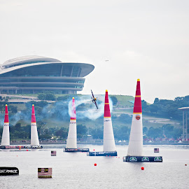 Redbull Air Race 2014 by Dokter Ajai - Sports & Fitness Other Sports ( airplane, air show )
