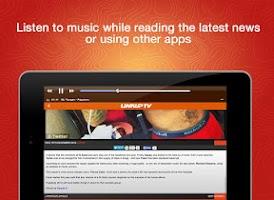 Screenshot of Link Up TV - Free Mixtapes App