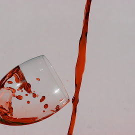 Red wine splash 101 by Anthony Doyle - Food & Drink Alcohol & Drinks ( wine, red, splash, drop, alcohol, drink, wine glass, drops, glass, droplets,  )