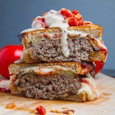 Moussaka Patty Melt