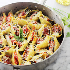Stuffed-Shells Florentine