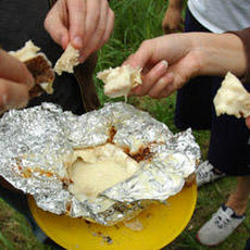 Boozy Campfire Cheese Recipe