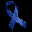 Blue Awareness Ribbon Clock icon