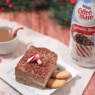 Quick & Easy Frozen Peppermint Mocha Tiramisu