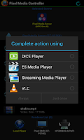Screenshot of Pixel Media Controller - mDLNA