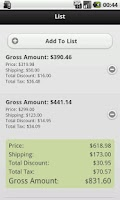 Screenshot of Sales Calculator For eCommerce