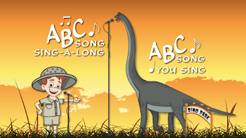 Screenshot of Dinosaur Park ABC Lite