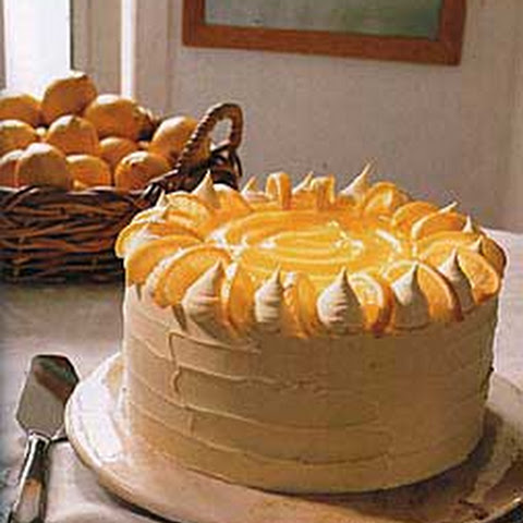 Triple-Layer White Cake With Orange Curd Filling Recipes — Dishmaps