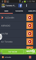 Screenshot of Toronto Radio