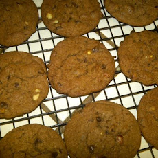 Nutella Almond Cookies