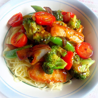 *Lemon and Chicken Stir Fry*