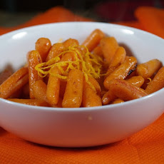 Sweet-Orange Roasted Baby Carrots