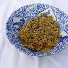 Lentils with Rice (Mujaddara)