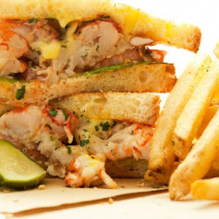 Lobster And Vanilla 'Club' Sandwich