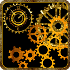 Mechanical Gear Clock LiveWP