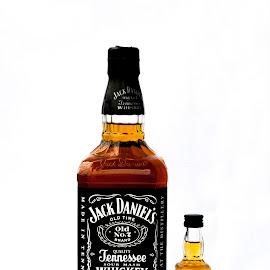 Big Jack & Little Jack by Nina Kriznic - Food & Drink Alcohol & Drinks ( product, jack, alcohol, drink, bottles, bottle, jack daniels,  )