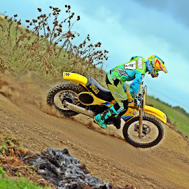 Evo Old school by Mike Hughes - Sports & Fitness Motorsports ( haney, evo-mx, rm, suzuki, old school, offroad only )