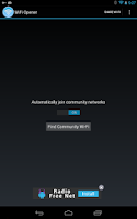 Screenshot of WiFi Opener