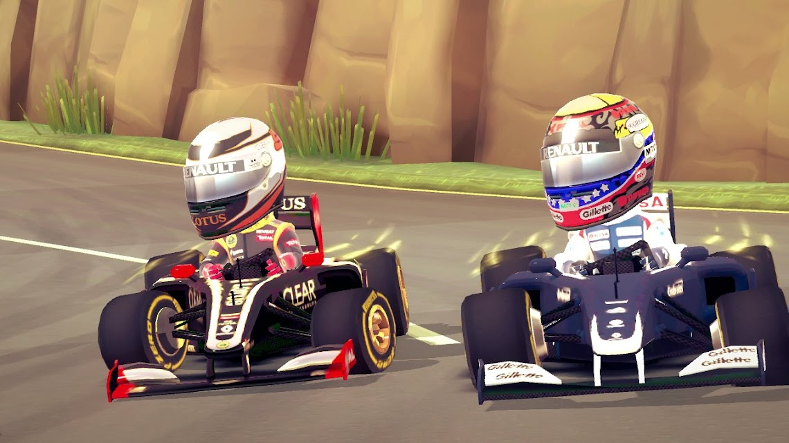 F1 Race Stars coming to the Wii U this December