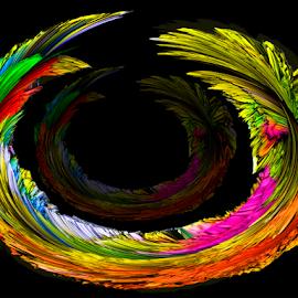 color abstract by LADOCKi Elvira - Digital Art Abstract ( color )