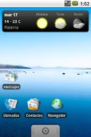 Screenshot of OTempo - Galician weather