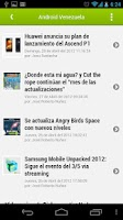 Screenshot of Android Venezuela Reader