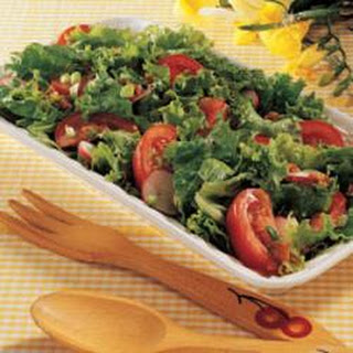 Salad with Hot Italian Dressing