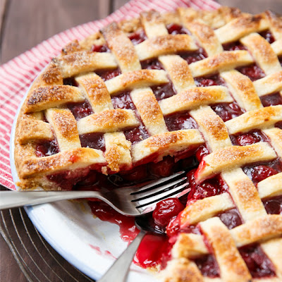 Tart Cherry Pie
