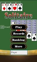 Screenshot of Solitaire Klondike