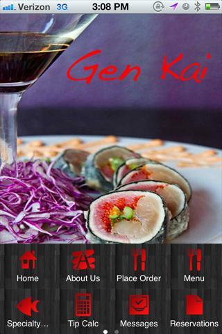 Gen Kia Sushi Chico Ca