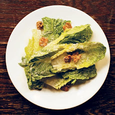 Romaine Salad with Candied Walnuts and Pecorino From 'Roberta's'