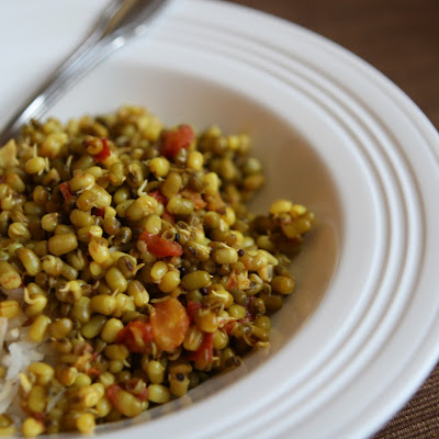 Sprouted Mung Bean Saute