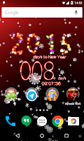 Screenshot of New Years Countdown 2015