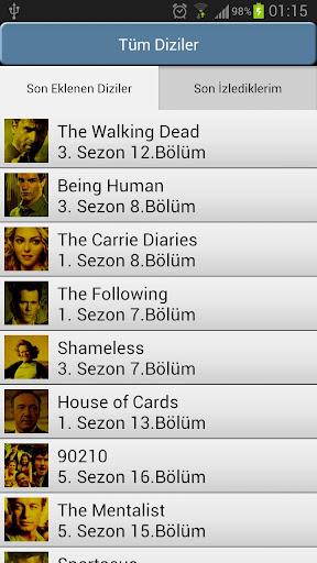 yabancı-dizi-izle for android screenshot