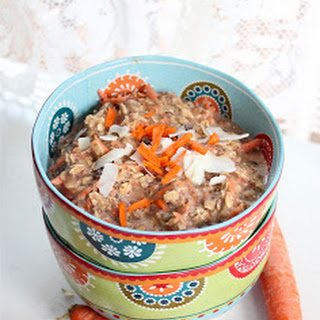 Carrot Cake Breakfast Oatmeal