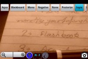 Screenshot of PocketLens Free
