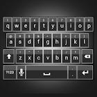 Sleek White Keyboard Skin icon