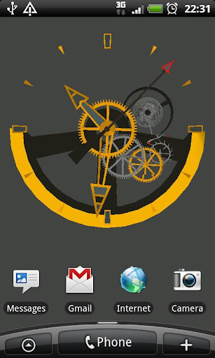 Swiss Watch 3D Live Wallpaper