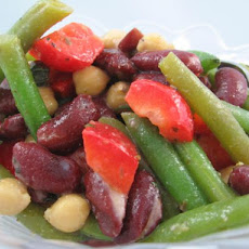 My Three Bean Salad-No Sugar