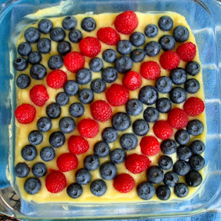 4th of July Lemon Fruit Tart