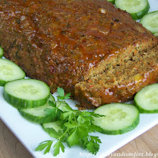 Masala Meatloaf (Indian Style Meatloaf)