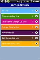 Screenshot of QikRide: Metrolink LA