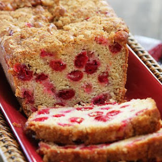 Fresh Cranberry Brown Sugar Bread
