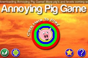 Screenshot of Annoying Pig Game