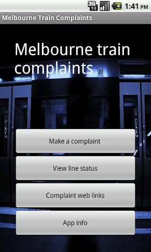 New Melbourne Train Complaints