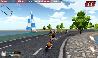 Screenshot of Violent Moto