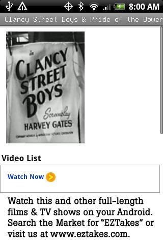Clancy Street Boys Bowery