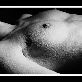 Water Drops 1 by Marc Steiner - Nudes & Boudoir Artistic Nude