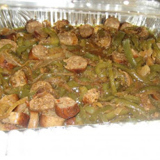 Sausage + Peppers  With Onions